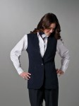 Female Single Button Vest