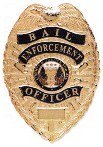 HWC bail enforcement officer shield badge