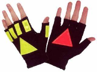 Hamburger Woolen Company Inc DNR100 Day Nite Reflective Glove