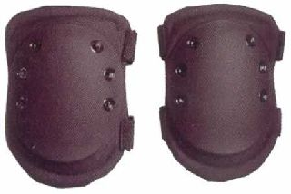Hamburger Woolen Company Inc KP250 Centurion Hard Knee Pads, Black