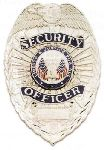 Hamburger Woolen Company Inc 8104C Security Officer Badge with Full Color Seal