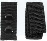 Hamburger Woolen Company Inc BK-1NYLV 1 Wide Nylon Belt Keeper, Velcro