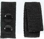 Hamburger Woolen Company Inc BK-1NYL 1 Wide Nylon Belt Keeper, 2 Snaps