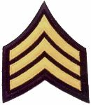Hamburger Woolen Company Inc CHEVRON Sergeant Chevrons