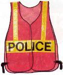 Hamburger Woolen Company Inc DXVEST Orange Vest Crossing Guard