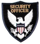 Hamburger Woolen Company Inc Hamburger Woolen Company Inc EAGLE-1 Eagle Center Shoulder Patches - Security Officer