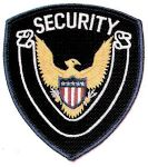 Hamburger Woolen Company Inc Hamburger Woolen Company Inc EAGLE-2 Eagle Center Shoulder Patches - Security with Scroll