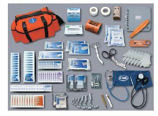Hamburger Woolen Company Inc EMT850 Pro Response Complete, Orange Bag