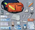 Hamburger Woolen Company Inc EMT857 Trauma Pac Complete Kit, Orange Bag