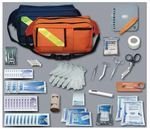 Hamburger Woolen Company Inc EMT858 Trauma Pac Complete Kit, Navy Bag