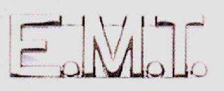 Hamburger Woolen Company Inc EMT 1/2 E.M.T. Letters