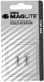 Hamburger Woolen Company Inc LM-2 LM2A001 bulb for AA Mini Maglite (2 per card)