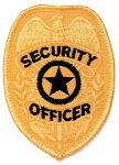 Hamburger Woolen Company Inc Hamburger Woolen Company Inc P104-1 Shield Patch - Security Officer