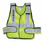 Hamburger Woolen Company Inc PSVGN Ansi P.S.V. Lime Vest