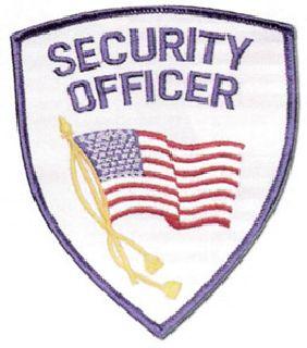 Hamburger Woolen Company Inc SOFLAG-1B Security Officer Flag Shoulder Patch