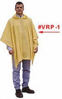 Hamburger Woolen Company Inc VRP-1 .10mm Vinyl Reusable Rain Poncho