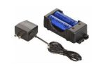 HW 22011 120v AC charger with two 18650 Li Ion batteries