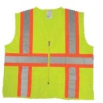 Hamburger Woolen Company Inc SVAV ANSI Class 2 Surveyors Vest