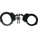 Kroll TAYLOR CUTLERY BLACK DOUBLE LOCK HANDCUFF