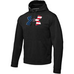 Kroll UNDER ARMOUR UNDER ARMOUR - BIG FLAG LOGO TACKLE TWILL HOODY