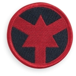 ASP, Inc. 59104 Patch - Red Arrow (Certified Officer)