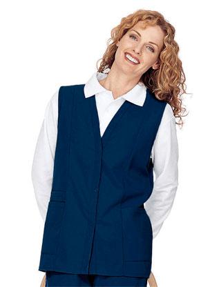 Landau 0755 Womens Double Pocket Vest
