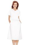 Landau 2226 White Ladies A Line Skirt