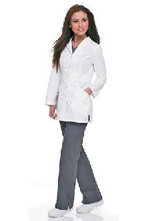 Landau 3028 Womens Smart Stretch Signature Lab Coat