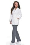 Landau 3028 Womens Smart Stretch Signature Lab Coat