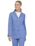 Landau 4064 Button-Front Notch Jacket