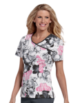Landau 4120 Bound Surplice Top
