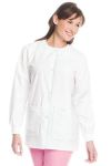 Landau 7533 Womens Drawstring Warmup Jacket