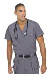 Landau 7594 Mens Vented Scrub Top