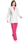 Landau 8716 Labcoat Pintuck Detail