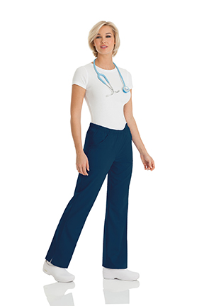 Landau 9306 Womens Alexis Comfort Elastic Waist Pant