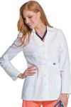 Landau 9609 Button Lab Coat w/Collar