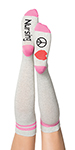 Landau L41006 Peace Love Nursing Compression Sock