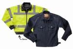 Liberty Uniforms 524M Reversible Police Windbreaker