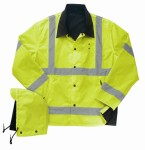 Liberty Uniforms 587M Reversible ANSI 3 Rain jacket