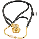 MDF Instruments 767XK MDF® Deluxe Sprague Rappaport X Stethoscope - 22K Gold Edition