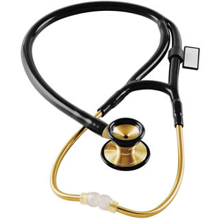 MDF Instruments 797K MDF® Classic Cardiology™ Stethoscope - 22K Gold Edition