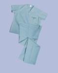 Medline 659 Unisex Reversible 100% Cotton Hyperbaric Scrub Pants