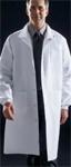 Medline 87050 Unisex Knee Length Lab Coat