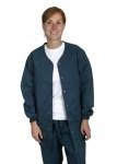 Medline 8812 Comfort Ease Shirttail Style Warm-up Jacket
