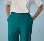 Medline 8850 Comfort Ease Elastic Waist Two-pocket Scrub Pants