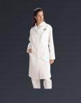 Medline MDT13 Ladies Full Length Lab Coat