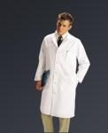Medline MDT14 Unisex Full Length Lab Coat