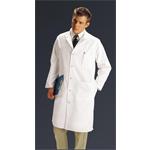 Medline MDT77 Men's Twill Full Length Lab Coat