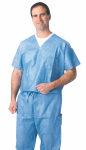 Medline NON27202 Disposable Scrub Shirts