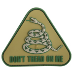 Maxpedition DTOM Don't Tread On Me Patch  3 x 2.6